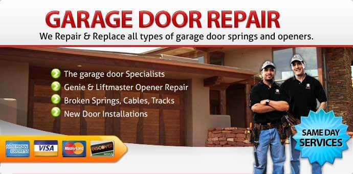 Garage door repair seal beach